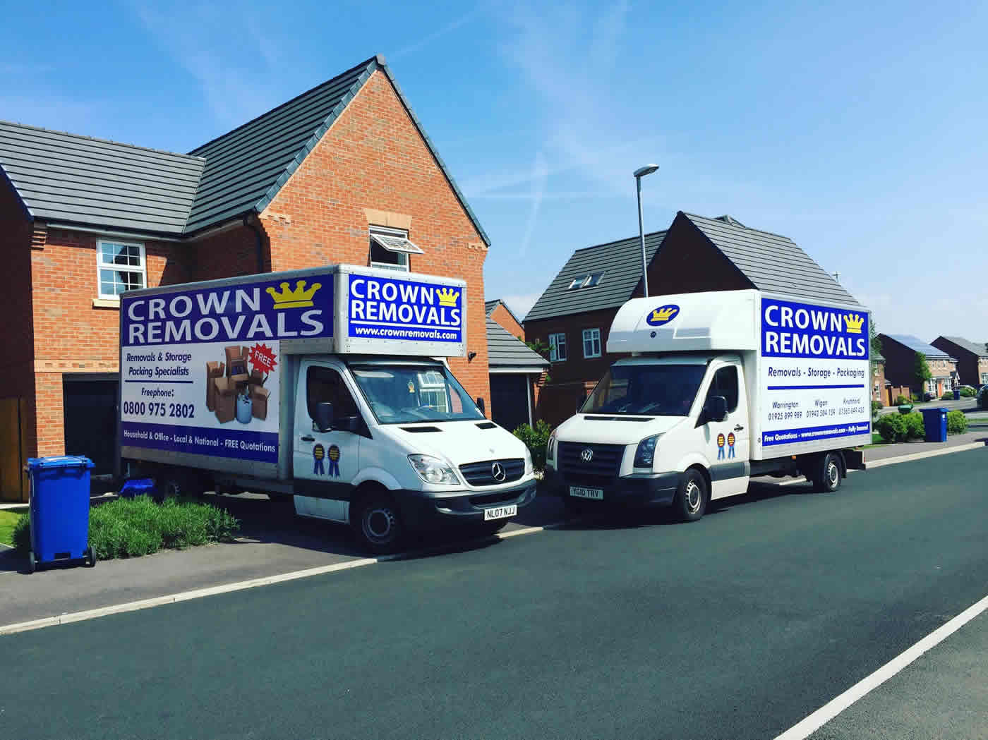 house removals warrington